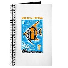1963 Wallis et Futuna Moorish Fish Stamp Journal