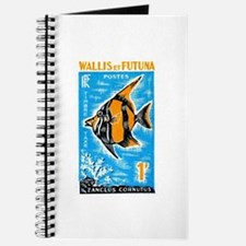 1963 Wallis et Futuna Moorish Fish Stamp Journal