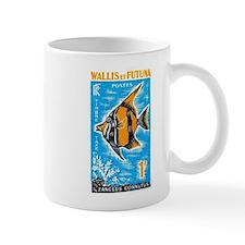 1963 Wallis et Futuna Moorish Fish Stamp Mug