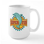 Super Fin Large Mug