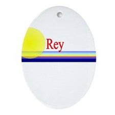 Rey Oval Ornament