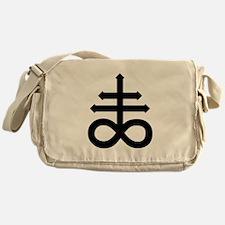 Hermetic Alchemical Cross Messenger Bag