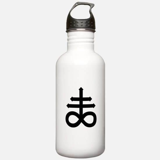 Hermetic Alchemical Cross Water Bottle