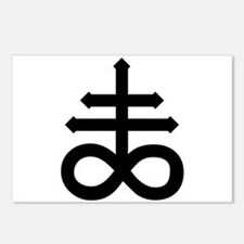 Hermetic Alchemical Cross Postcards (Package of 8)
