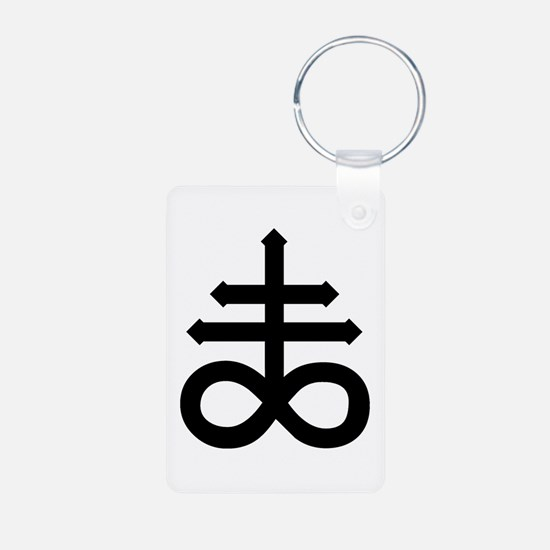 Hermetic Alchemical Cross Keychains