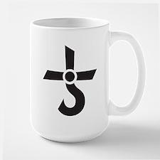 CROSS OF KRONOS (MARS CROSS) Black Mug