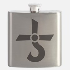 CROSS OF KRONOS (MARS CROSS) Black Flask