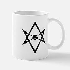Unicursal hexagram (Black) Mug