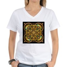 Yellow Celtic Tapestry Shirt