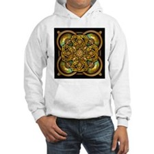 Yellow Celtic Tapestry Hoodie