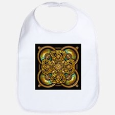 Yellow Celtic Tapestry Bib