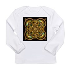 Yellow Celtic Tapestry Long Sleeve Infant T-Shirt