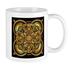 Yellow Celtic Tapestry Mug