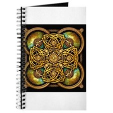 Yellow Celtic Tapestry Journal
