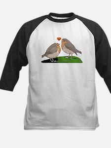 Robin red breast bird love Tee