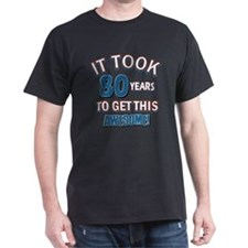 Awesome 80 year old birthday design T-Shirt