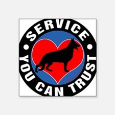A German Shepherd's Heart Sticker