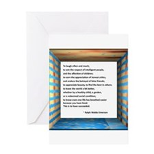 The Nature of Success Greeting Card