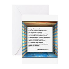 The Nature of Success Greeting Cards (Pk of 10)