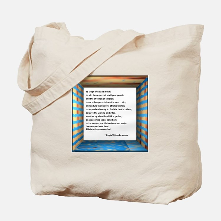 The Nature of Success Tote Bag