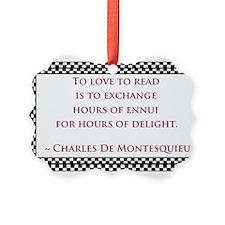 Love to Read Ornament