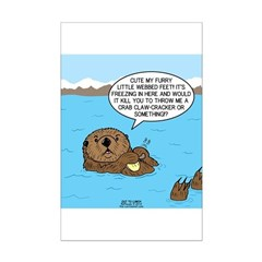 Mad Sea Otter Posters