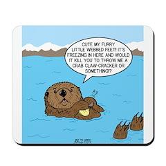Mad Sea Otter Mousepad