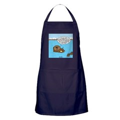 Mad Sea Otter Apron (dark)