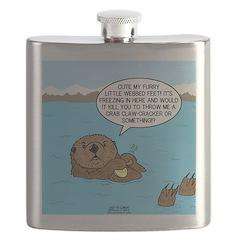 Mad Sea Otter Flask