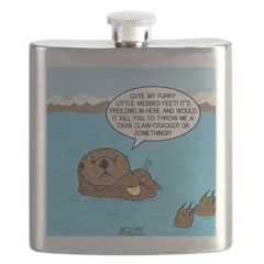 Mad Sea Otter Flask