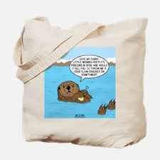 Mad Sea Otter Tote Bag