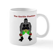 The Gorilla Position - Greeno Geno Design. Mug