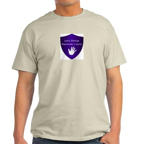 Lets Defeat Pancreatic Cancer Light T-Shirt