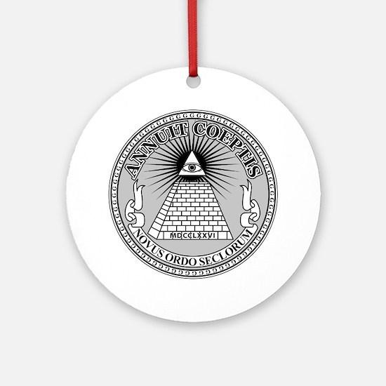 Eye of Providence Ornament (Round)