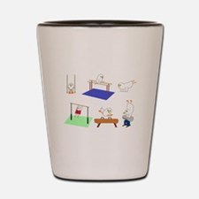 Gymnastics Shot Glass