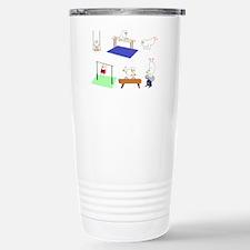 Gymnastics Stainless Steel Travel Mug
