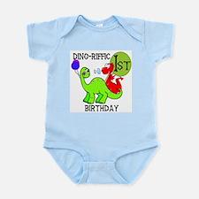 Dinosaur 1st Birthday Infant Creeper