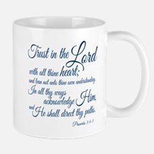 Trust in the Lord Small Small Mug