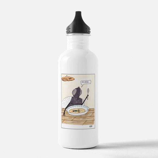Man in the Soup Water Bottle