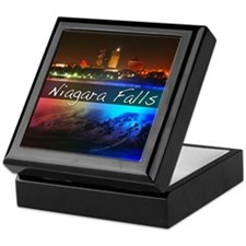 Niagara Falls Button Keepsake Box