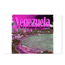 Venezuela art illustration Postcards (Package of 8