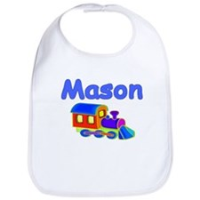 Train Engine Mason Bib
