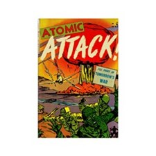 Atomic Attack! #5 Rectangle Magnet