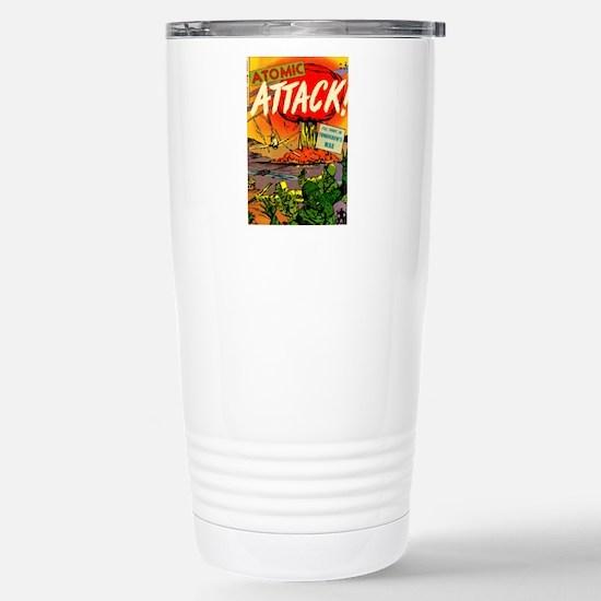 Atomic Attack! #5 Stainless Steel Travel Mug