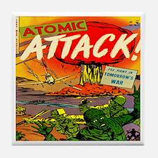 Atomic Attack! #5 Tile Coaster