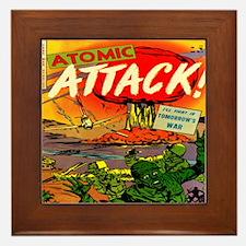 Atomic Attack! #5 Framed Tile