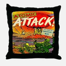 Atomic Attack! #5 Throw Pillow