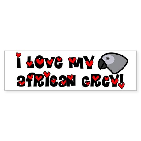 Anime Grey Bumper Sticker