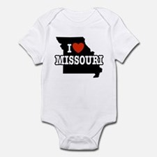 I Love Missouri Infant Creeper