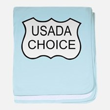 USADA CHOICE baby blanket